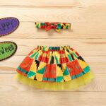 Wholesale Little Girl Clothing Bohemian Mesh Skirt With Headband  Wholesale 7