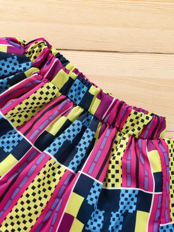 Wholesale Little Girl Clothing Bohemian Mesh Skirt With Headband  Wholesale 23