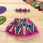 Wholesale Little Girl Clothing Bohemian Mesh Skirt With Headband  Wholesale 9