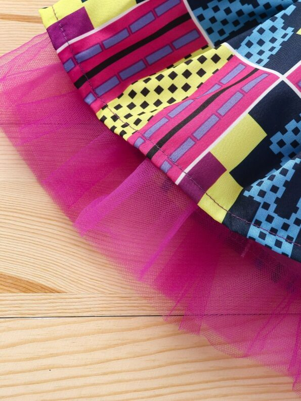 Wholesale Little Girl Clothing Bohemian Mesh Skirt With Headband  Wholesale 24
