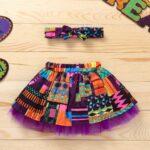 Wholesale Little Girl Clothing Bohemian Mesh Skirt With Headband  Wholesale 5