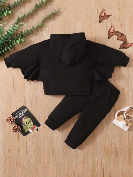 Halloween Bat Costume Hoodies And Trousers Wholesale Kid Clothing Set  Wholesale 2