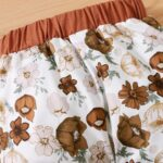 I'm My Daddy's Girl And My Mommy's World Flower Print Wholesale Baby Clothing Sets  Wholesale 11