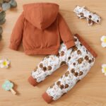 I'm My Daddy's Girl And My Mommy's World Flower Print Wholesale Baby Clothing Sets  Wholesale 3