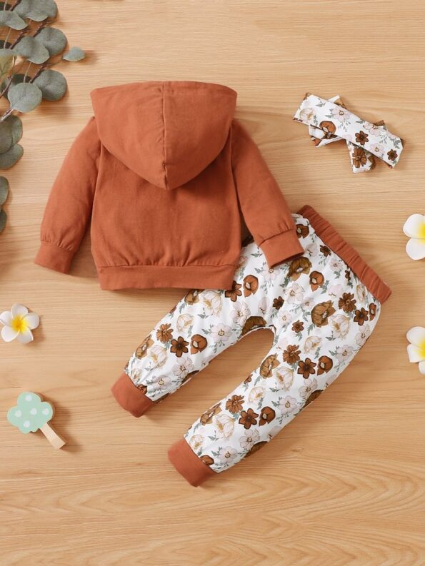 I'm My Daddy's Girl And My Mommy's World Flower Print Wholesale Baby Clothing Sets  Wholesale 12