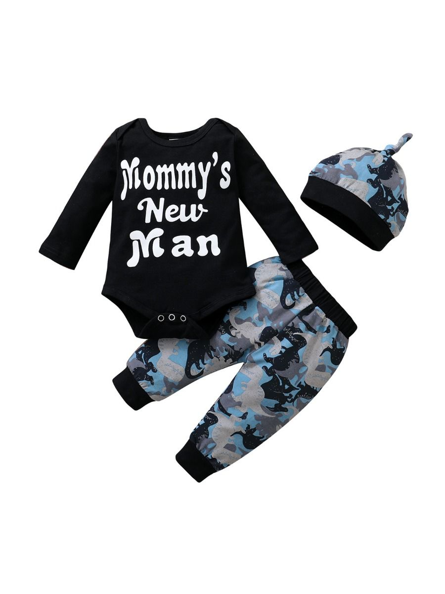 I'm My Daddy's Girl And My Mommy's World Flower Print Wholesale Baby Clothing Sets  Wholesale 21