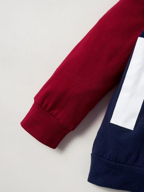Just Have Fun Hi Color Hoodie And Pants Kid Boys Sets Wholesale Boy Boutique Clothes Wholesale 11