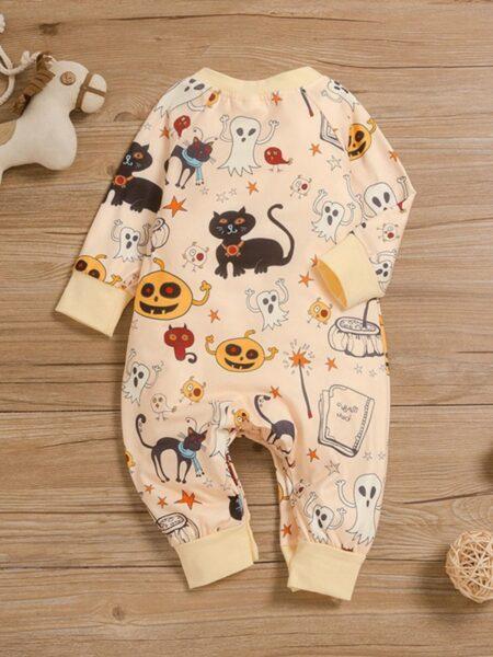 Cartoon Halloween Baby Jumpsuit Wholesale Baby Clothing  Wholesale BABIES 2021-09-15