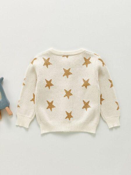Star Knitting Baby Girl Cardigan Wholesale Baby Clothing  Wholesale 2