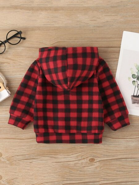 Plaid Bunny Baby Hoodie Wholesale Baby Boutique Clothing  Wholesale BABIES 2021-09-14