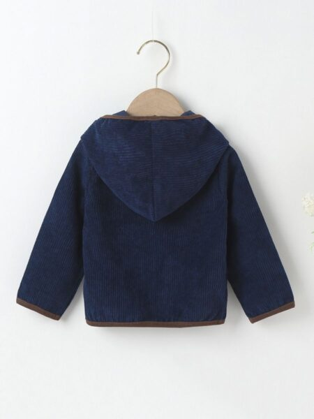 Baby Plain Hooded Jacket Wholesale Baby Clothes  Wholesale BABIES 2021-09-14