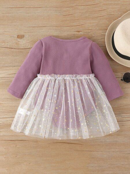 Baby Girl Mesh Ribbed Bodysuit Wholesale Baby Clothing  Wholesale 2