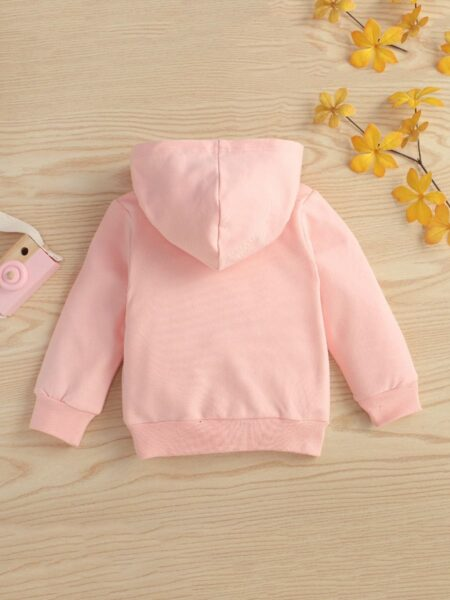 MAMA'S BOY DADDY'S GIRL Print Hoodie Sweatshirt Wholesale Childrens Clothing, 3-24Months, Letters, Printed, Cotton Blend, Autumn Winter, Wholesale 2